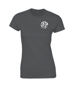 AG Wear Gildan SoftStyle® Ladies Fitted Ringspun T-Shirt Black