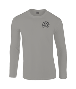 AG Wear Gildan SoftStyle® Long Sleeve T-Shirt Charcoal
