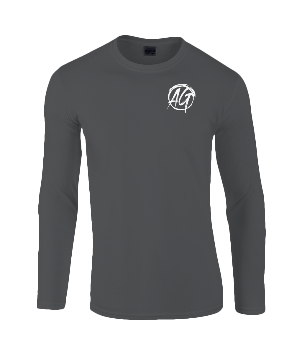 AG Wear Gildan SoftStyle® Long Sleeve T-Shirt Black
