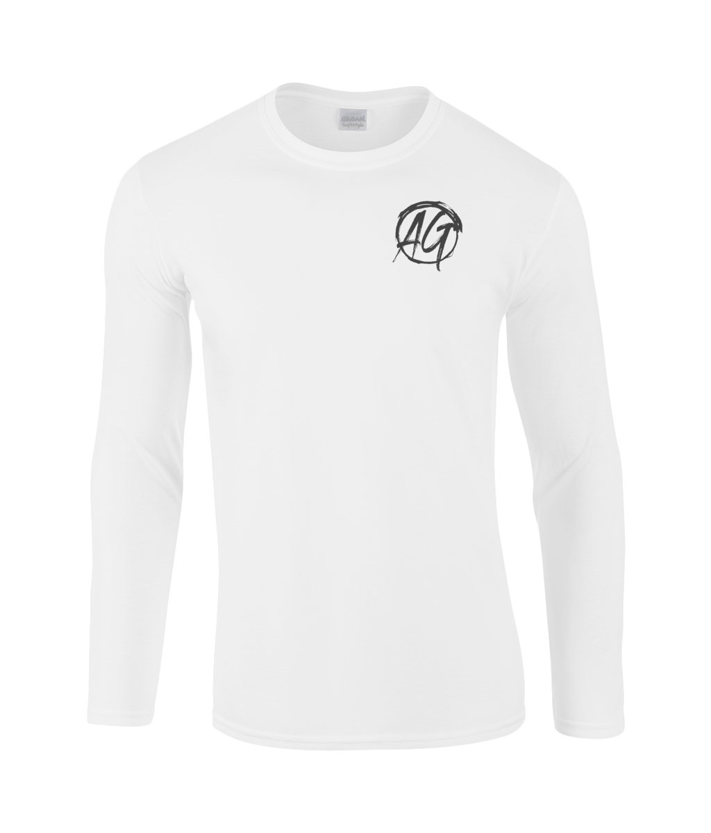 AG Wear Gildan SoftStyle® Long Sleeve T-Shirt White