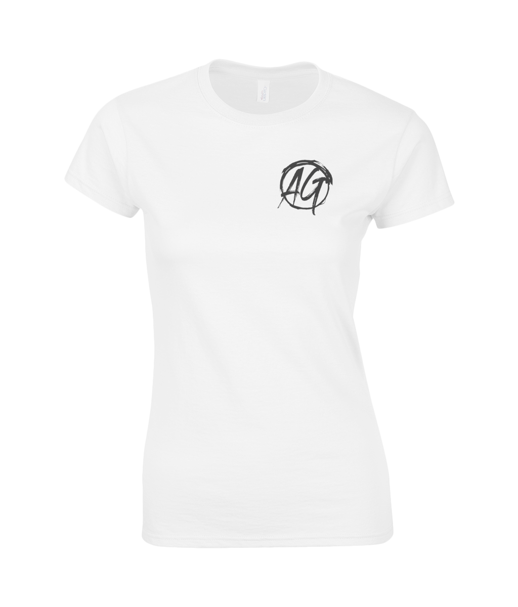 AG Wear Gildan SoftStyle® Ladies Fitted Ringspun T-Shirt Logo 2