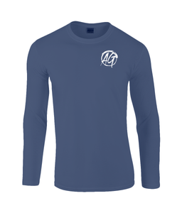 AG Wear Gildan SoftStyle® Long Sleeve T-Shirt Navy