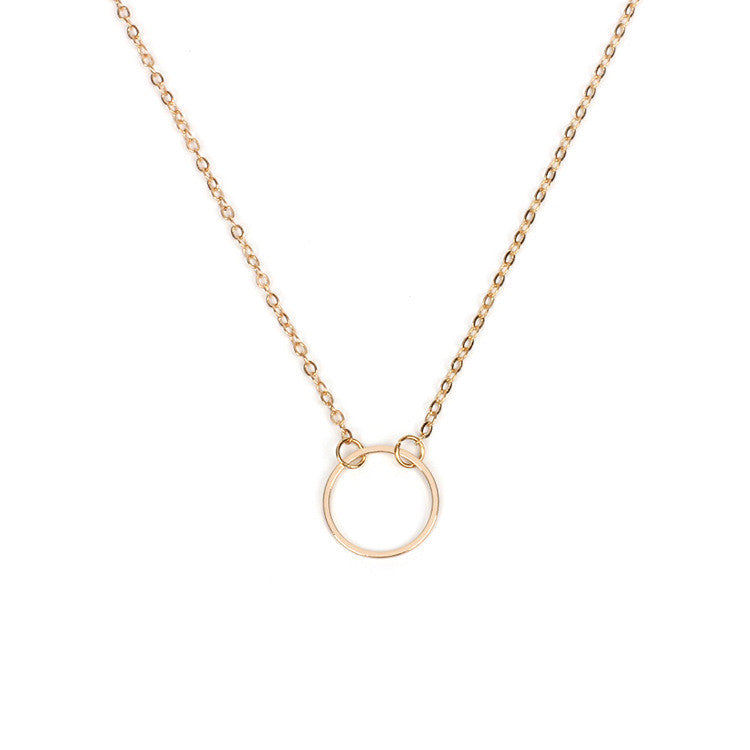 NEW Ring Pendant Necklace Chain Jewelry