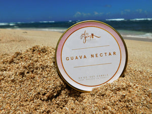 Guava Nectar 3.5 oz. Travel Tin Soy Candle