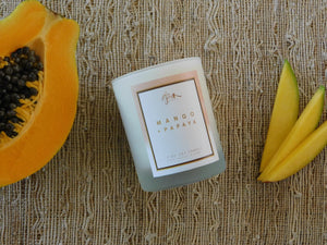 Mango + Papaya 7 oz. Soy Candle