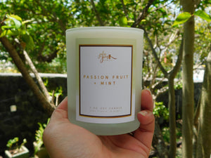 Passion Fruit + Mint 7 oz. Soy Candle