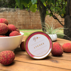 Lychee 3.5 oz Travel Tin Soy Candle