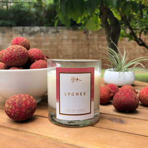 Lychee 7 oz. Soy Container Candle