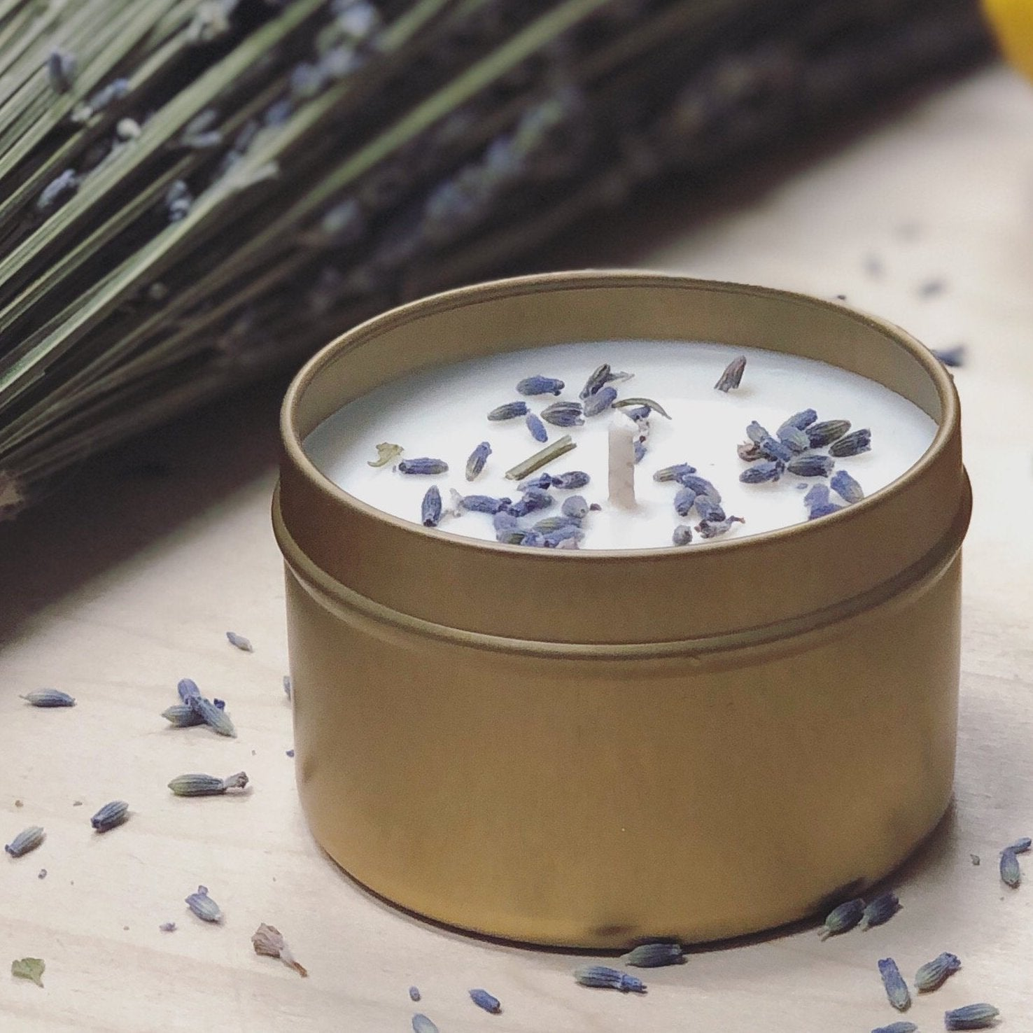 Lavender + Eucalyptus Essential Oil Candle