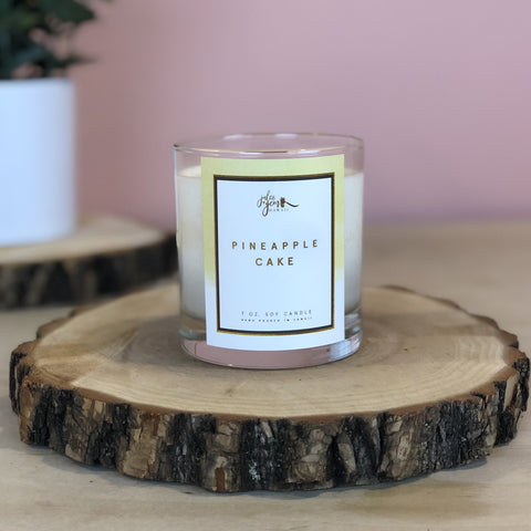 Pineapple Cake 7 oz. Soy Candle