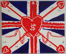 Load image into Gallery viewer, Union Jackheart painting (2019)
