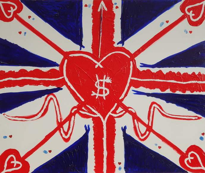 Union Jackheart painting (2019)