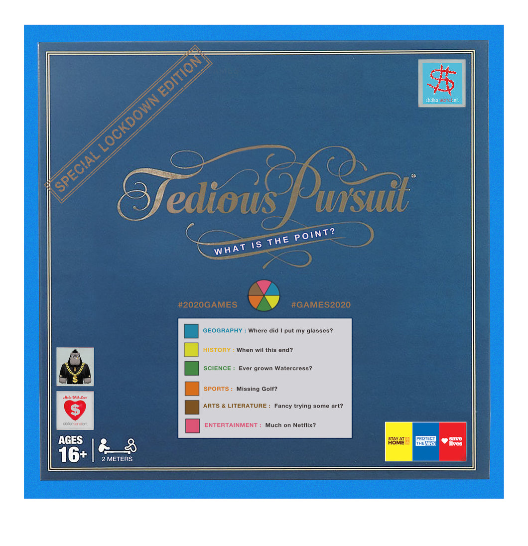 11. Tedious Pursuit