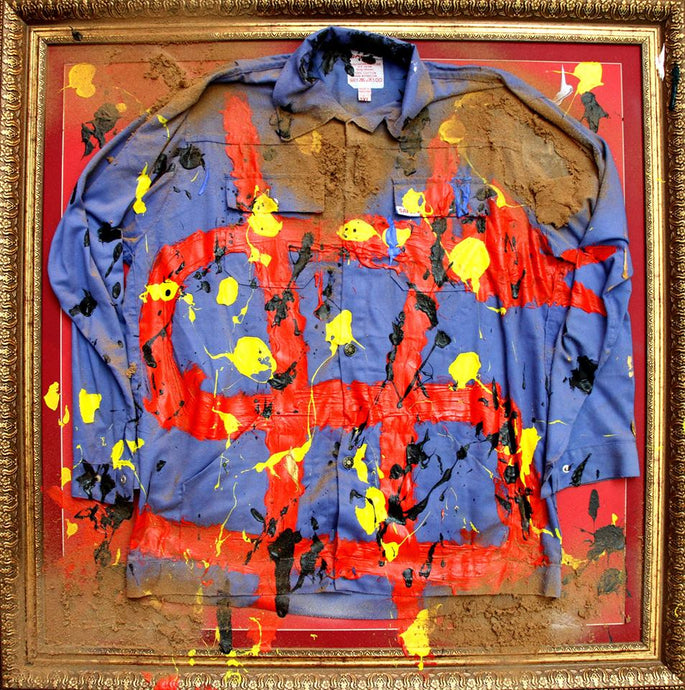 15. Blue Overalls, Waqaas (2015) In the U.S.A for Re-sale
