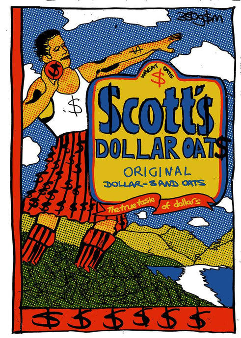 12. Scotts Dollar Oats