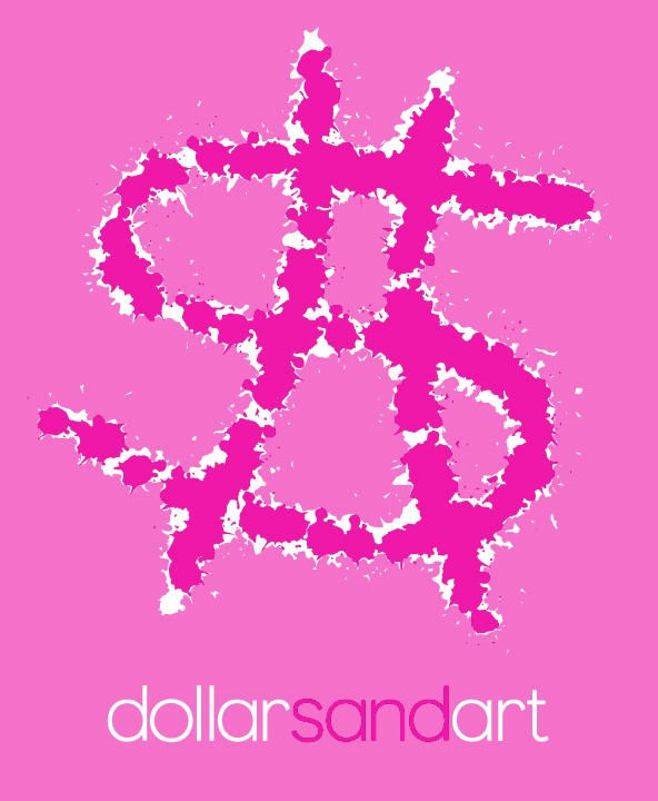 Pink on pink Dollarshot print