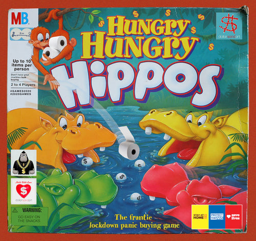 7. Hungry Hippos