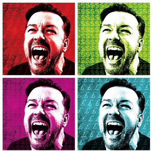 Ricky Gervais laughter