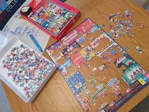Jigsaw 1,000 piece GAMES2020