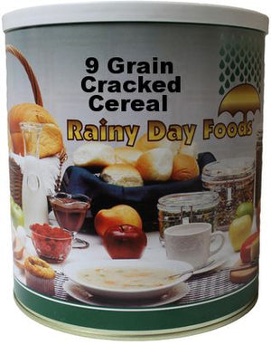 9 Grain Cracked Cereal - Case of #10 cans