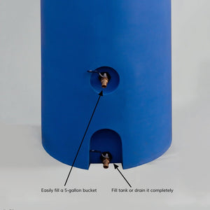 260 Gallon Emergency Water Storage Tank