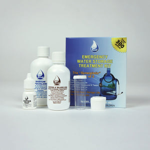 5 year Emergency Water Storage Treatment Kit