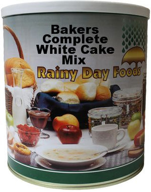 Bakers Complete White Cake Mix - Case #10 cans