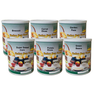 Freeze Dried Vegetables Food Storage Kit