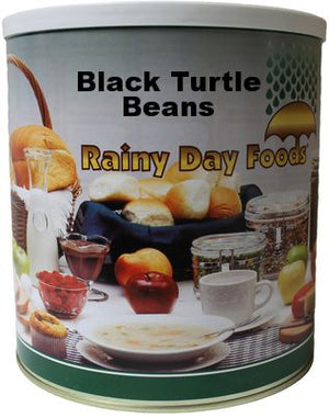Black Turtle Beans - Case #10 cans