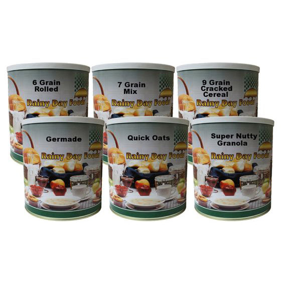 Cereal Pack Food Storage Kit
