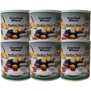 Cracked Wheat - Case of #10 cans