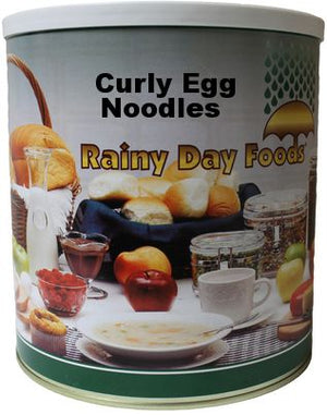 Curly Egg Noodles - Case #10 cans