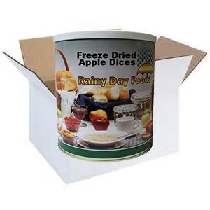 Freeze Dried Apple Dices - Case of #10 Cans
