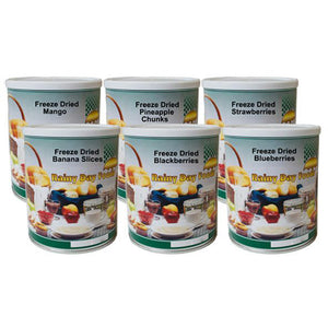 Freeze Dried Fruit Food Storage Kit
