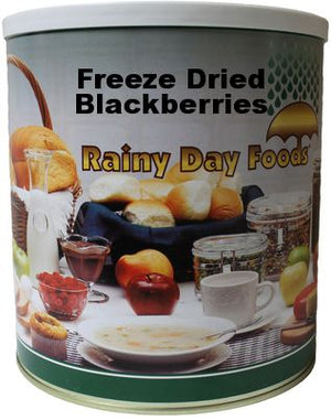 Freeze Dried Blackberries-Whole - Case of #10 Cans