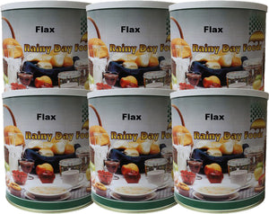 Flax - Case #10 cans