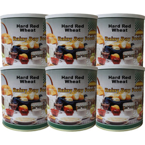 Hard Red Wheat - Case #10 cans