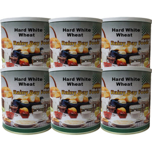 Hard White Wheat - Case #10 cans