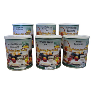 Seasoning and Sauce Pack Food Storage Kit