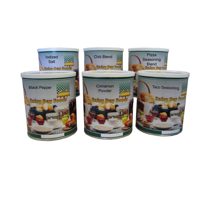 Spice Pack Food Storage Kit