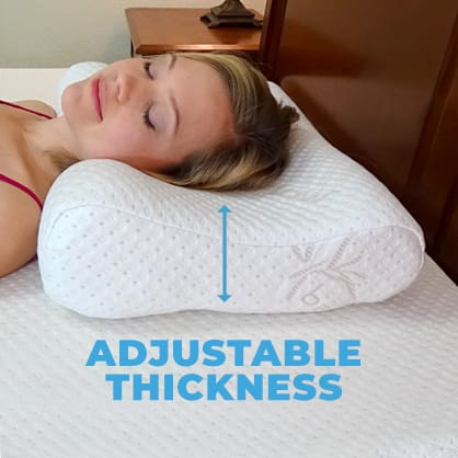 3 in 1 Contour Pillow Technology