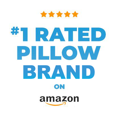 #1 Rated Pillow Brand on Amazon!