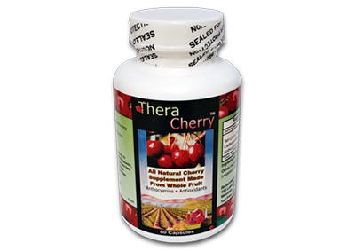 There Cherry melatonin supplement