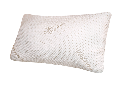 Snuggle-Pedic ADJUSTABLE Memory Foam Bamboo Pillow