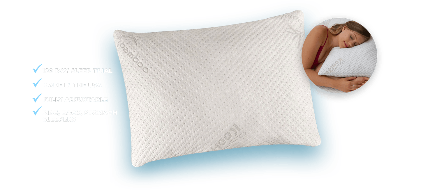 memory foam bamboo pillow features