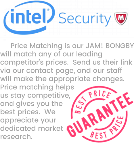 BONGBY -  Price Matching is our JAM! BONGBY will match any of our leading  competitor's prices.  Send us their link via our contact page, and our staff  will make the appropriate changes.  Price matching helps us stay competitive, and gives you the best prices.  We appreciate your dedicated market research.  BONGBY.COM