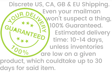 BONGBY -  Discrete US, CA, GB &  EU Shipping.  Even your  mailman won't  suspect a thing, 100%  Guaranteed.  Estimated delivery  time: 10-14 days, unless  inventories are low on a  given product, which could take up  to 30 days for said item.  BONGBY.COM