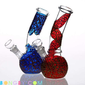 Bongby - Alannah - Custom Made Blue Bongs Dabs For-Sale Freeshirt Free Shipping United States 2018 Bongby.com