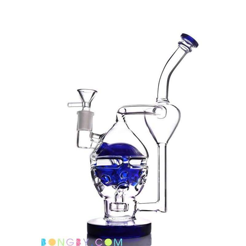 Bongby - Alexa - Custom Made 14Mm Blue Bong Bongs Dab Free Shipping United States 2018 Bongby.com