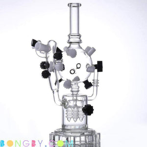 Bongby - Aria - Custom Made Black Bong Bongs Clear Dab Free Shipping United States 2018 Bongby.com
